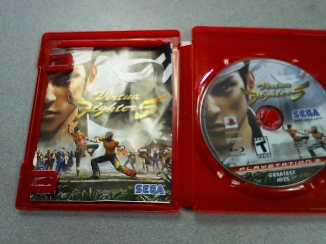 SONY Sony PlayStation 3 Game VIRTUA FIGHTER 5
