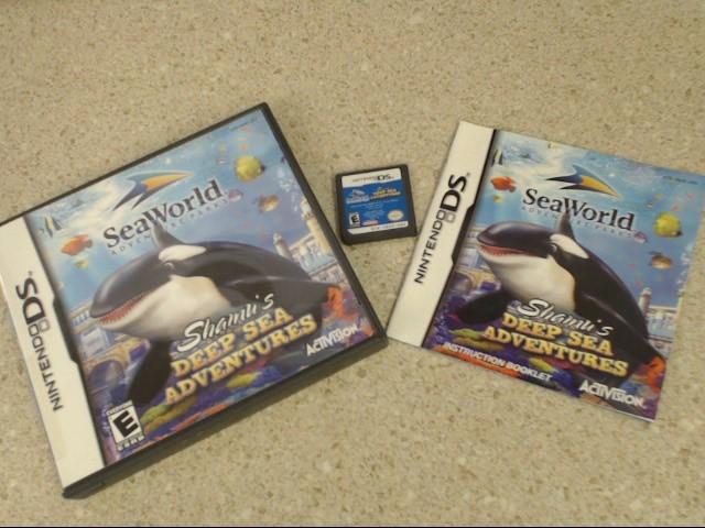 SHAMU'S DEEP SEA ADVENTURES - DS GAME