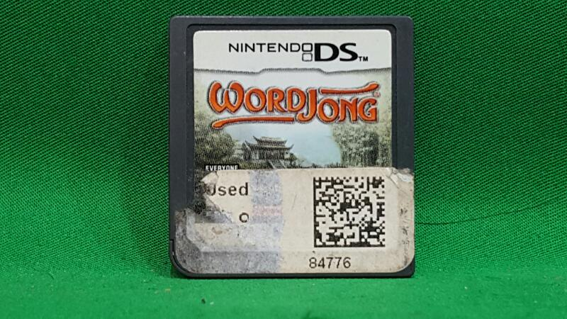 NINTENDO Nintendo DS Game WORD JONG