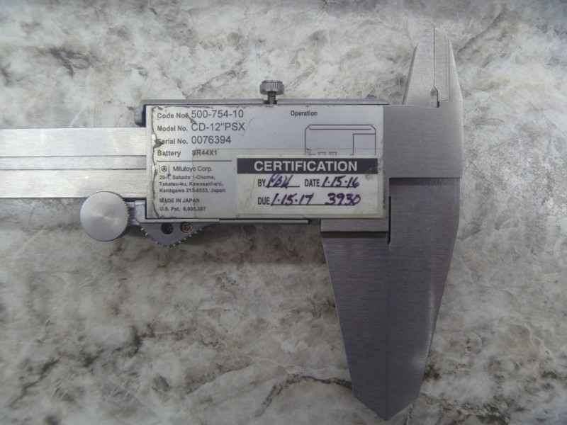 MITUTOYO MICROMETER 500-754-10 - WITH CASE