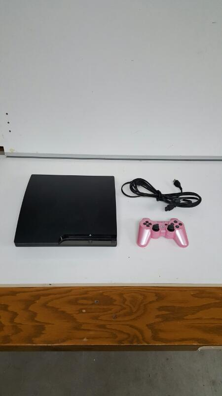 Sony PlayStation 3 Slim 160gb Black Console, PS3 (CECH-2501A)