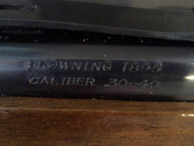 BROWNING Rifle 1895