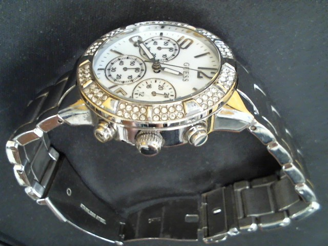 GUESS Gent's Wristwatch STAINLESS STEEL WATCH STAINLESS STEEL WATCH