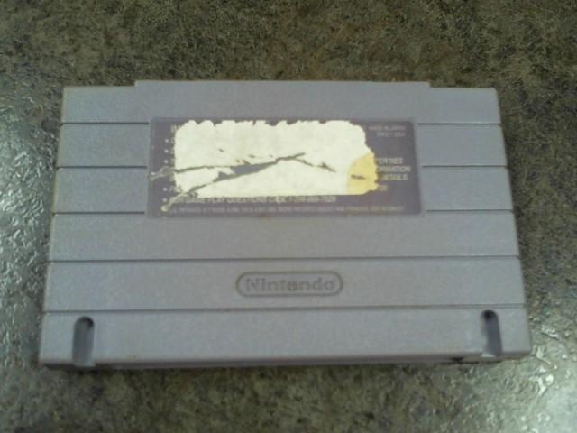 NINTENDO Nintendo SNES Game SUPER WRESTLE MANIA