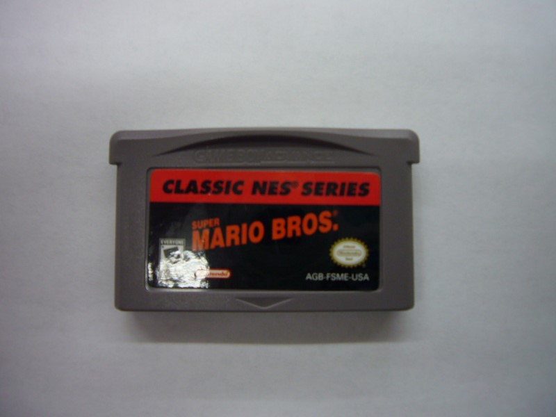 NINTENDO GBA Game CLASSIC NES SERIES SUPER MARIO BROS *CARTRIDGE ONLY*