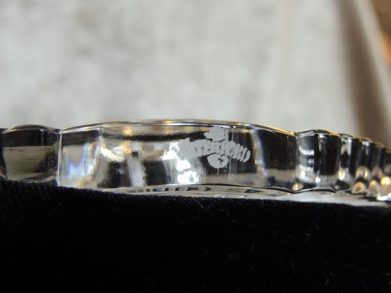 Harley Davidson 100th Anniversary Waterford Crystal Ornament 97968-03V