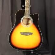 WASHBURN GUITARS Electric-Acoustic Guitar WA90CE