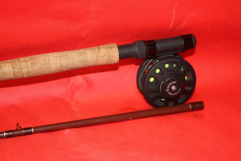 AMERICAN EXPLORER Fishing Rod & Reel AM300-9