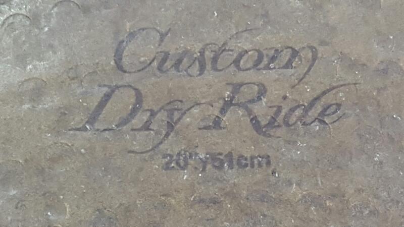 "ZILDJIAN K CUSTOM DRY RIDE CYMBAL 20"""