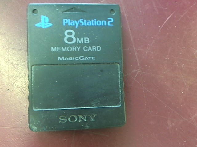 SONY 8MB PS2 MEMORY CARD