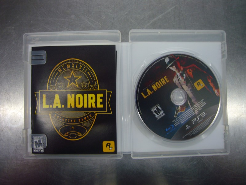 SONY PlayStation 3 Game L.A. NOIRE