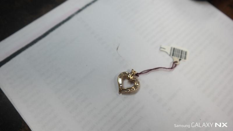 Gold-Multi-Diamond Pendant 33 Diamonds .99 Carat T.W. 14K Yellow Gold 4.4g