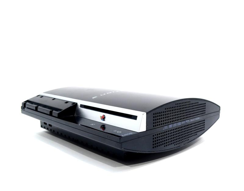 Sony Playstation 3 Console CECHH01 40GB Game System Bundle No HDMI>