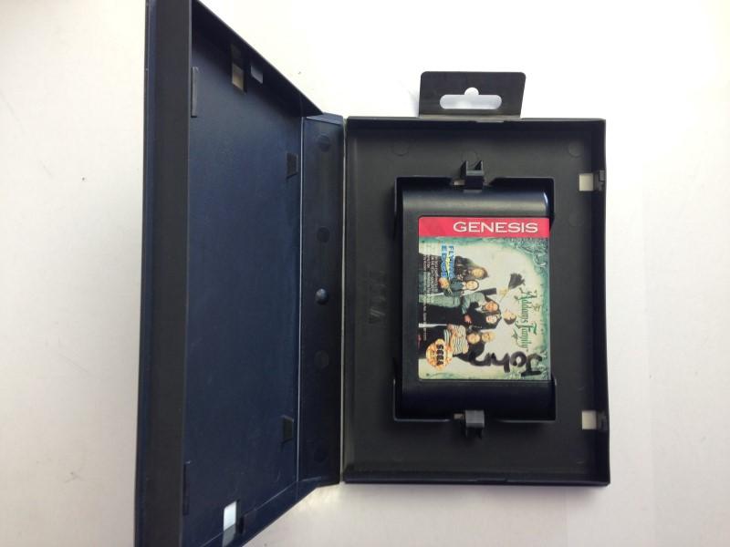 The Addams Family Sega Genesis Game