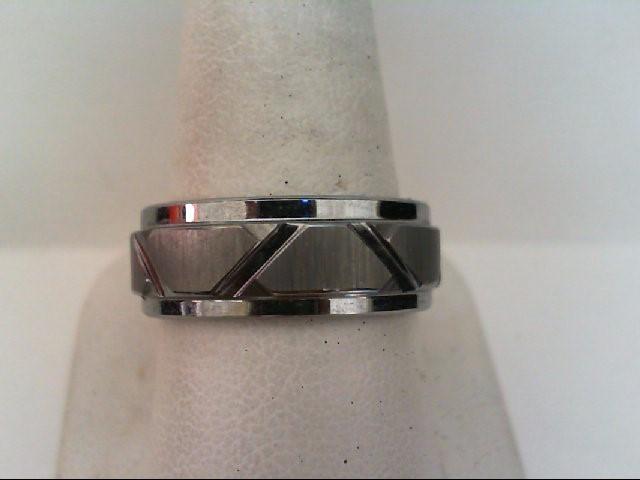 Gent's Ring Black Tungsten 14.6g