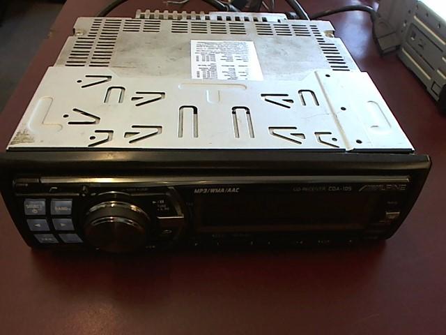 ALPINE ELECTRONICS Car Audio CDA105