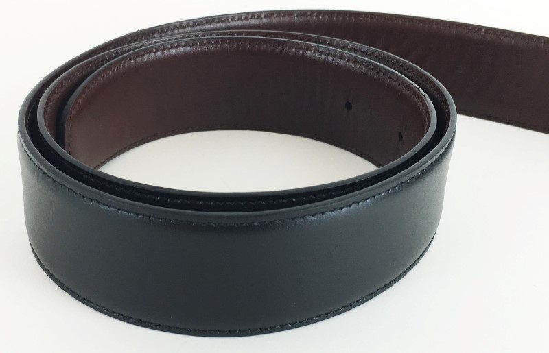 SALVATORE FERRAGAMO LEATHER REVERSIBLE BELT SZ 38