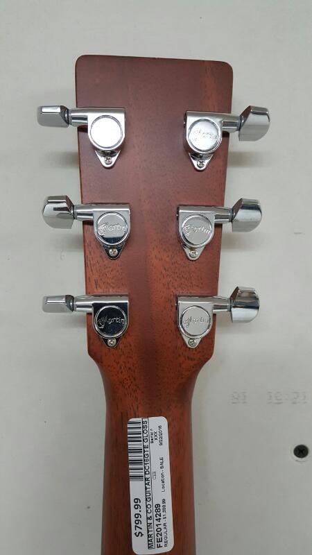 C.F Martin & Co DC-16GTE Acoustic/Electric Guitar, Fishman Prefix