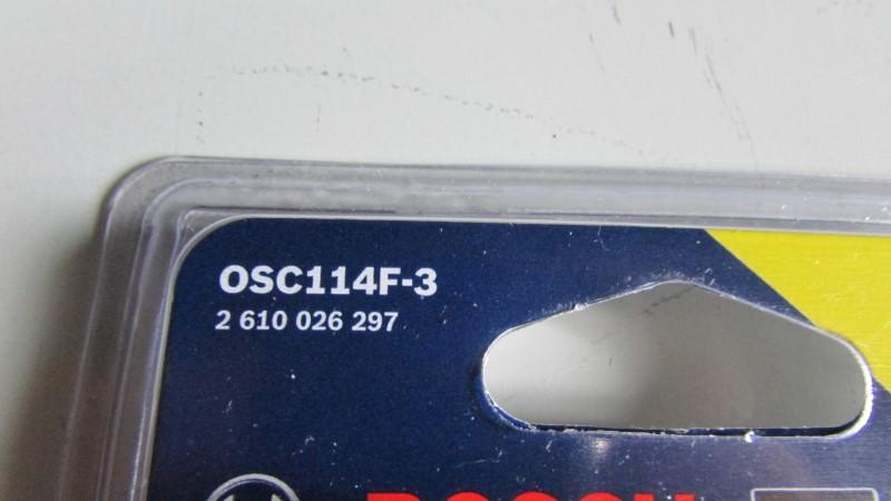 BOSCH PRECISION TIP 3 PACK OSC114F-3