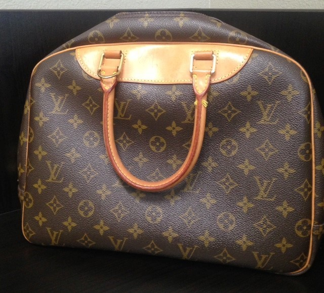 LOUIS VUITTON Handbag MONOGRAM DEAUVILLE HANDBAG