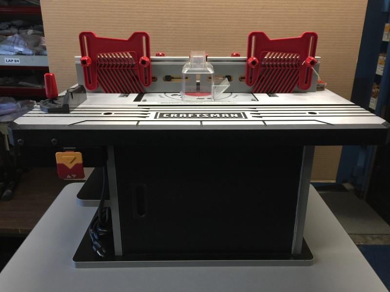 CRAFTSMAN 320.37610 Premium Die-Cast Aluminum Router Table Work Space