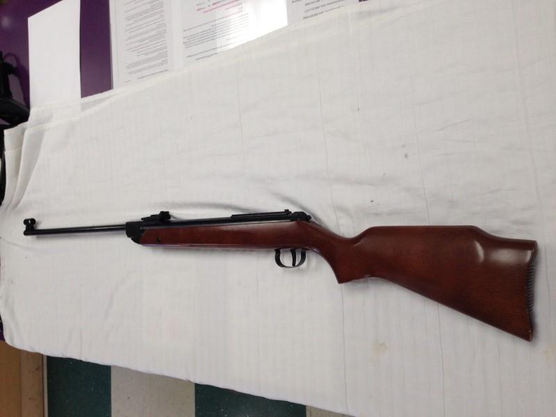 RWS DIANA Model 34 T-05 .22 Air Gun Hardwood