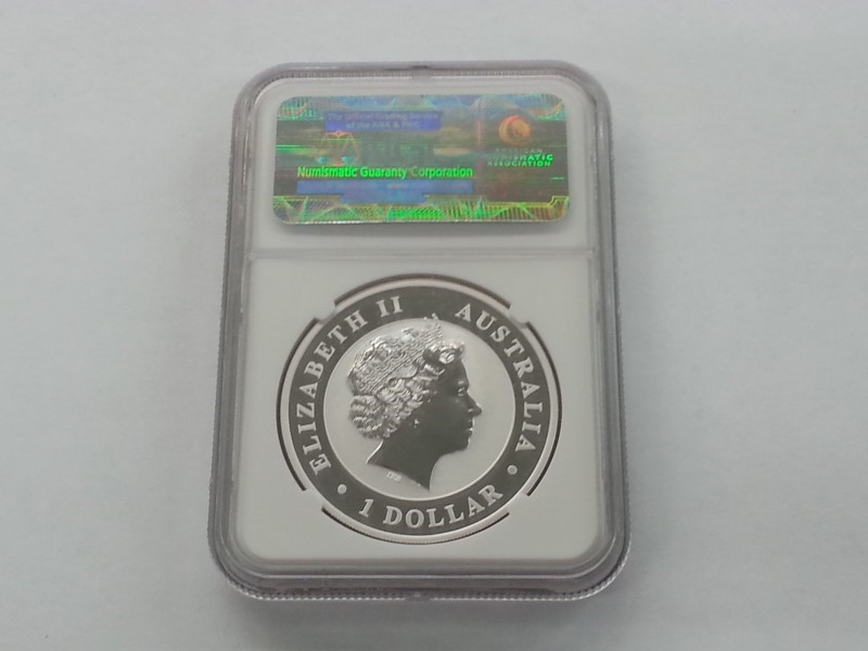 PERTH MINT Silver Coin AUSTRALIA S$1 KOOKABURRA