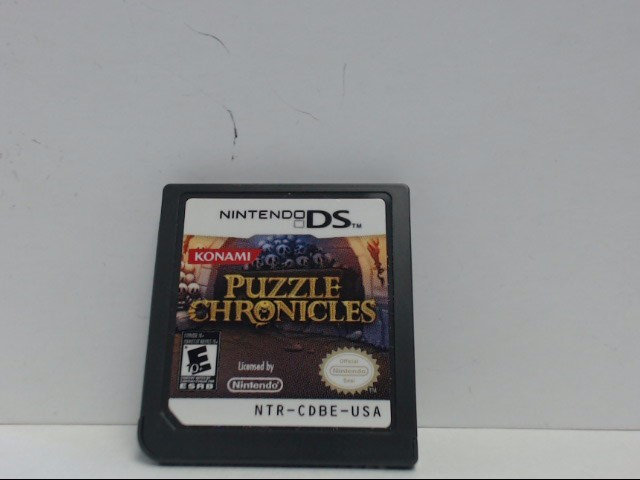 Nintendo DS Game PUZZLE CHRONICLES Cartridge Only