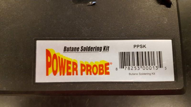 POWER PROBE Miscellaneous Tool BUTANE SOLDERING KIT