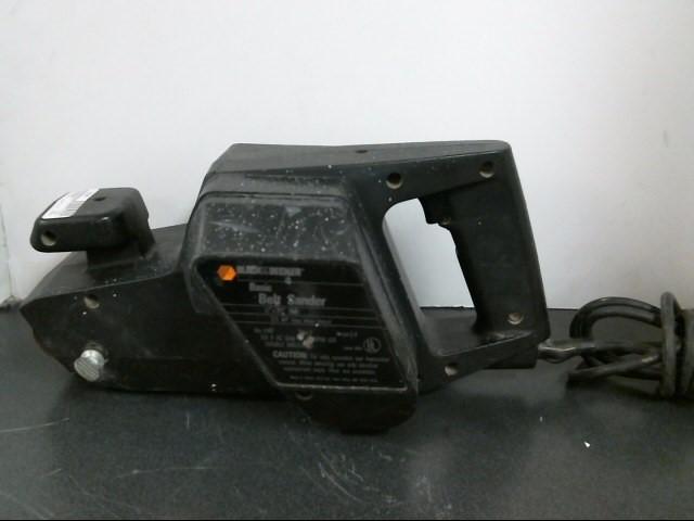 BLACK&DECKER Belt Sander 7447 BELT SANDER