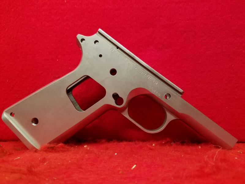 Caspian Arms 1911 Race Ready Recon Receiver / Carbon Smooth /