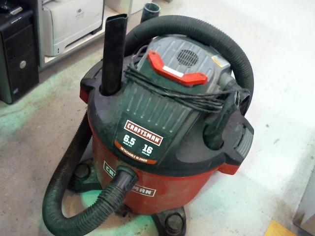 CRAFTSMAN Vacuum Cleaner 16 GAL WET DRY DRY VAC 113.1706600