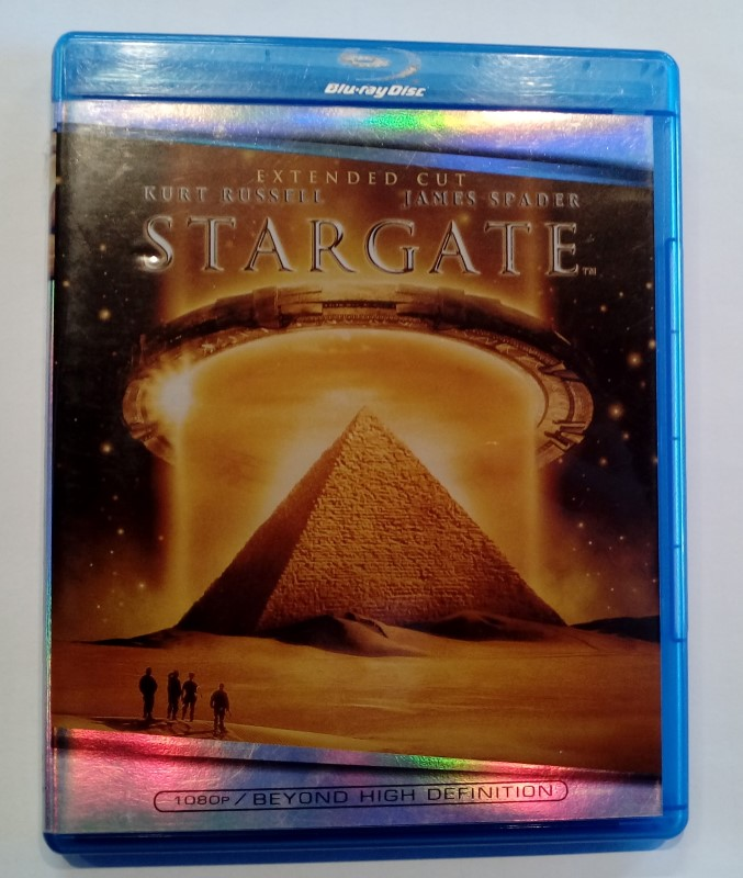 BLU-RAY MOVIE STARGATE