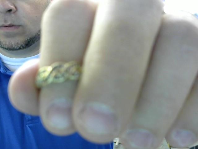 Lady's Diamond Fashion Ring 21 Diamonds .21 Carat T.W. 10K Yellow Gold 2.65g