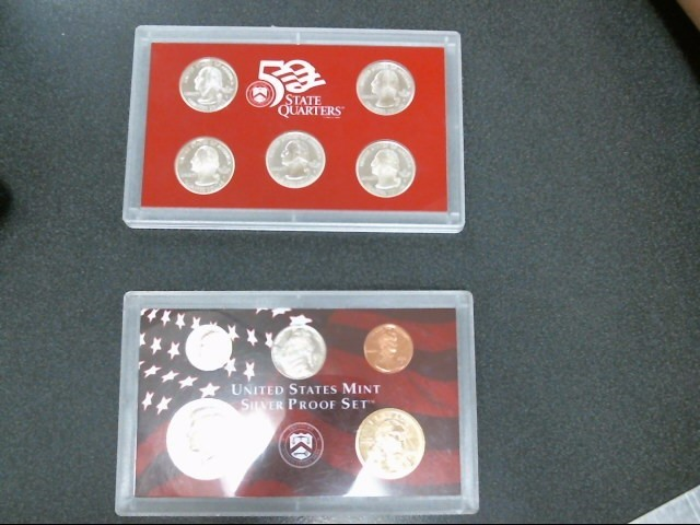 UNITED STATES Proof Set MINT SILVER PROOF SET 2000