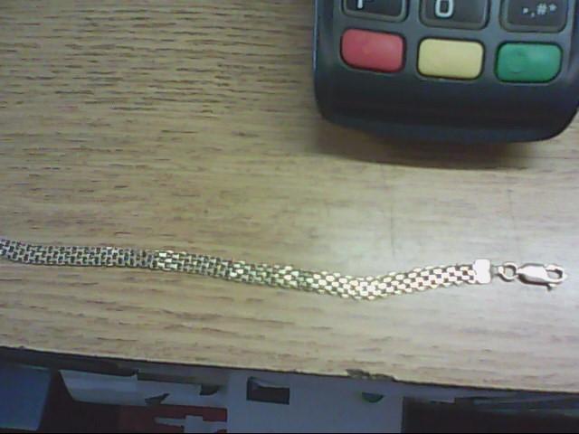 Gold Fashion Bracelet 14K Yellow Gold 4.6g