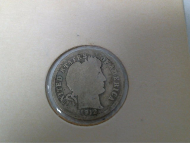 UNITED STATES Coin 1912 DIME