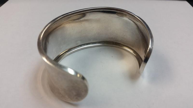 Silver Cuff Bracelet 925 Silver 25.6g