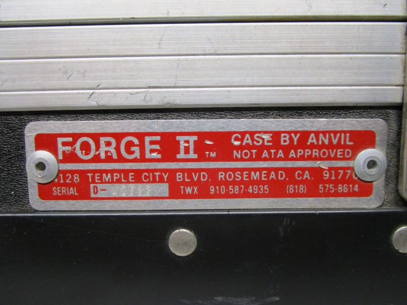 FORGE II CASE BY ANVIL, ROAD READY AND EXTREMELY HEAVY DUTY