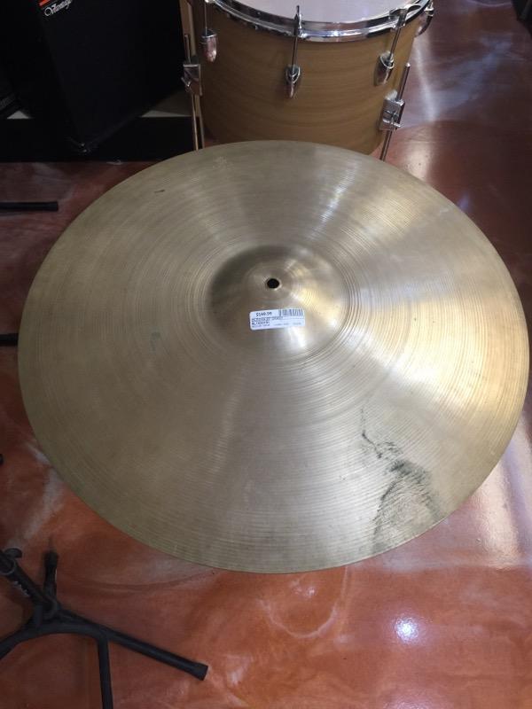 """ZILDJIAN Cymbal 22"""" CRASH RIDE"""