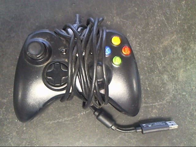 MICROSOFT Video Game Accessory XBOX 360 CONTROLLER - WIRED