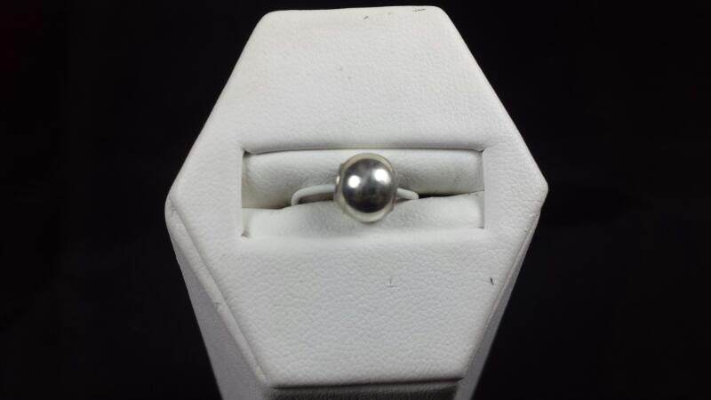 Simple Silver Bead 925 Silver 0.4g