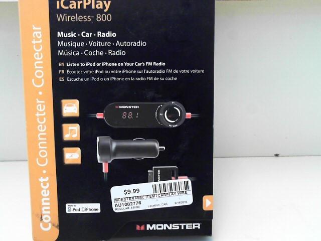 MONSTER I CARPLAY WIRELESS 800