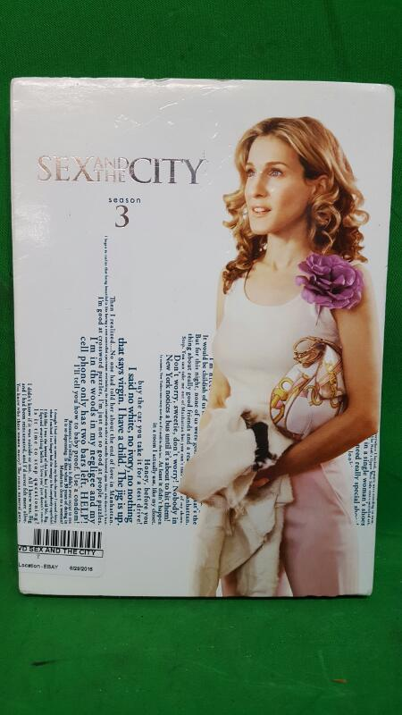 Sex and the City: The Complete Third Season (DVD, 2010, 3-Disc Set)