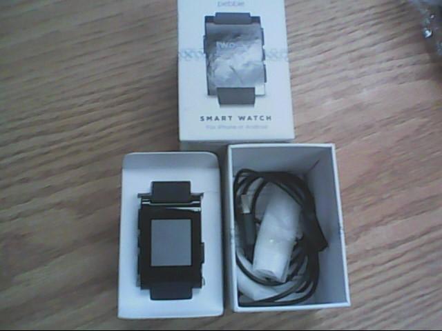 PEBBLE SMART WATCH Gent's Wristwatch 301BL