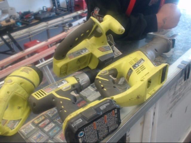 RYOBI Cordless Drill P504G/P515/P701G/P271/P118 18V COMBO KIT