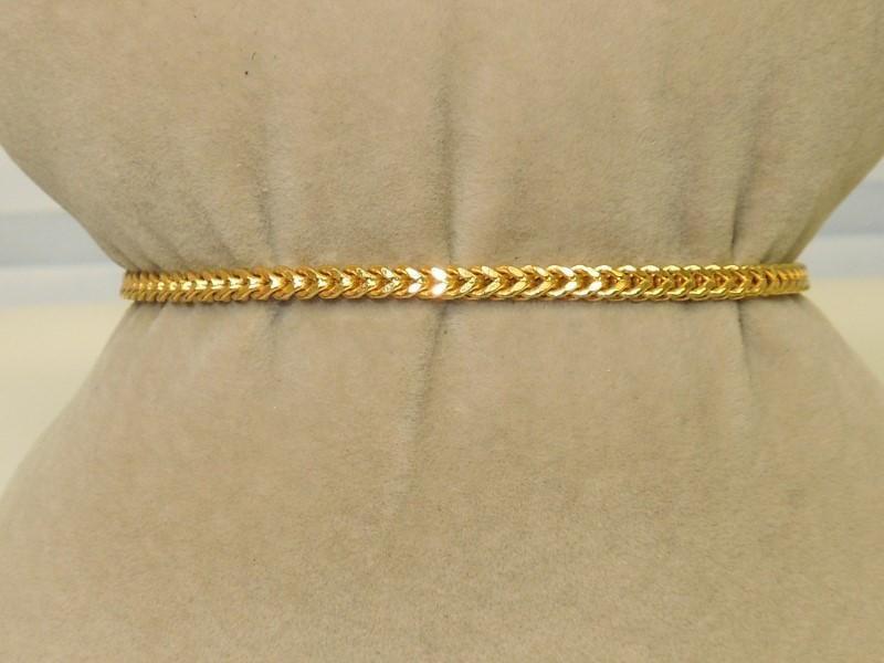 Gold Fashion Bracelet 10K Yellow Gold 4g