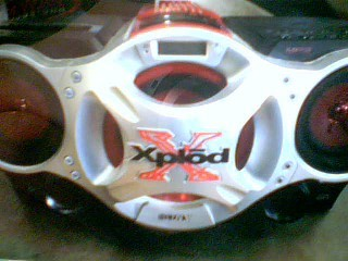 SONY CD Player & Recorder XPLODE CFD-G700CP