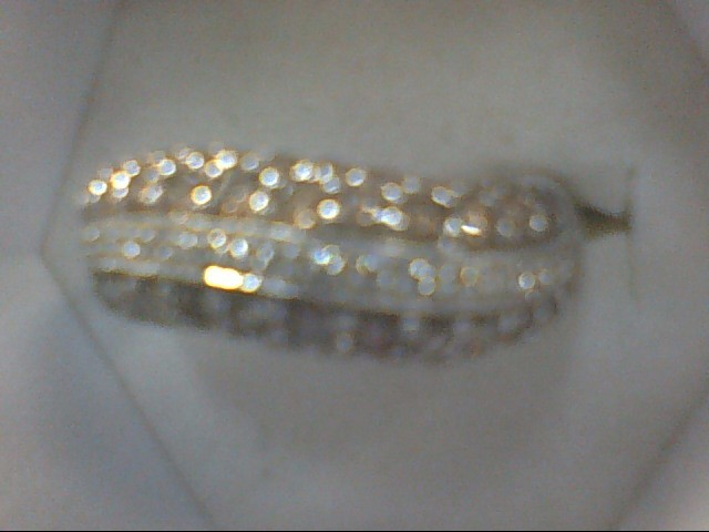 Lady's Diamond Cluster Ring 46 Diamonds .46 Carat T.W. 14K Yellow Gold 5.4g