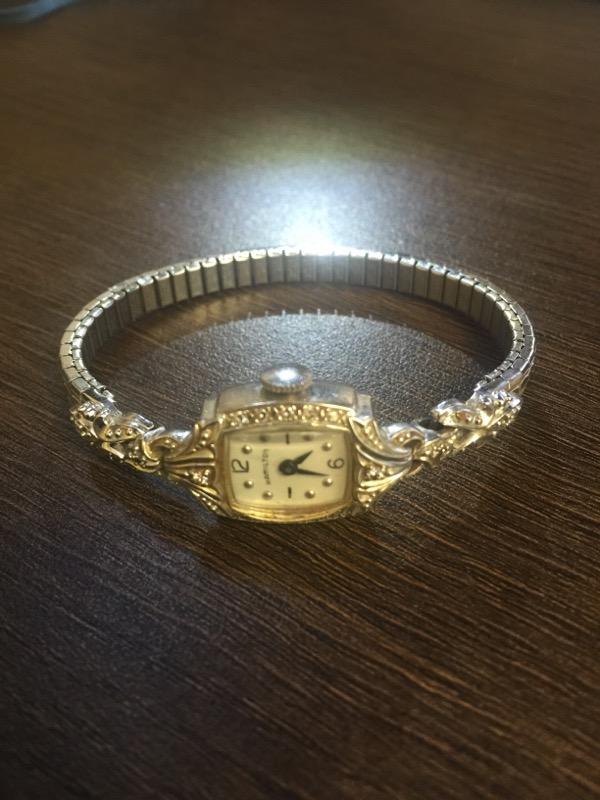 HAMILTON Lady's Wristwatch NA